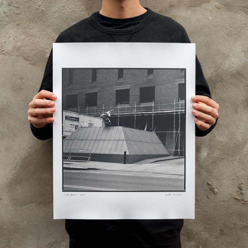 willy akers - ollie - manhattan, new york - by zander taketomo - 2013